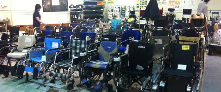 各式各樣的輪椅