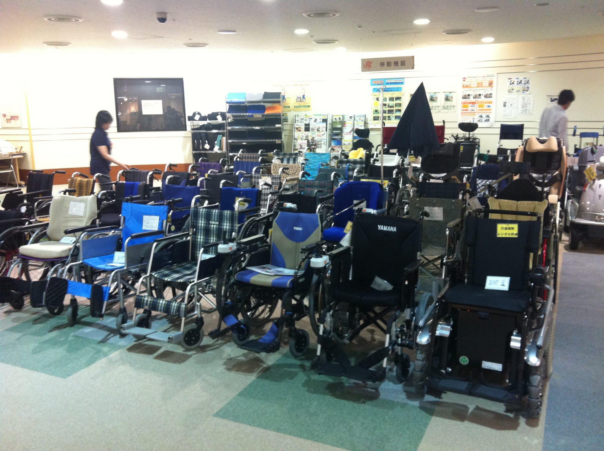 輪椅使用者的模擬體驗