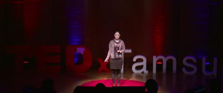 小魚在TEDxTamsui演講「通用設計與多感官設計」